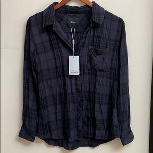 NWT Rails Plaid Button Shirt